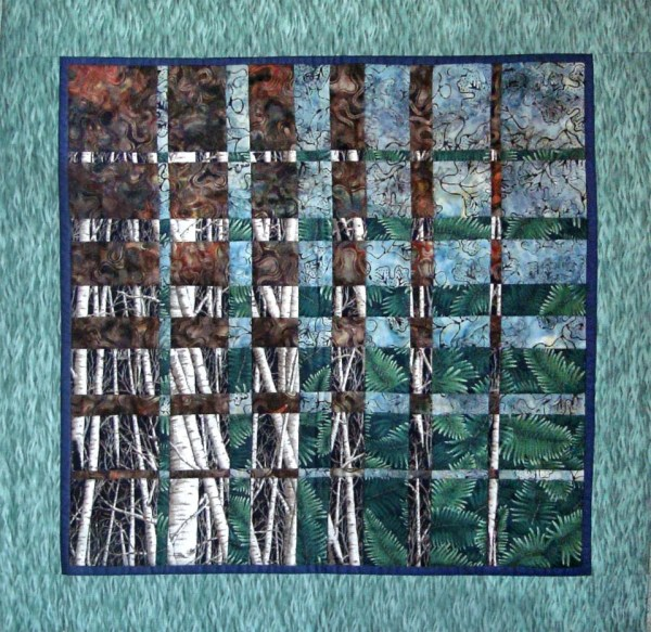 Fabric Wall Hanging Quilt Art