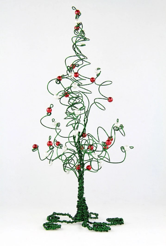Christmas Tree Evergreen Wire Tree Wedding Cake By