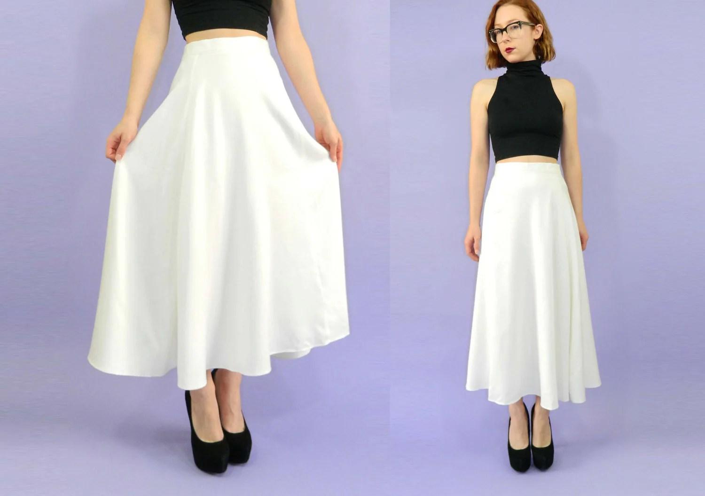 Tag Circle Skirt