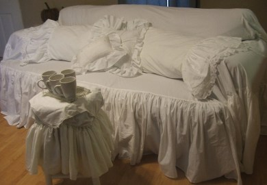 Shabby Chic Chair Covers