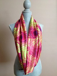 Infinity Scarf with Hidden Pocket Green and by ...