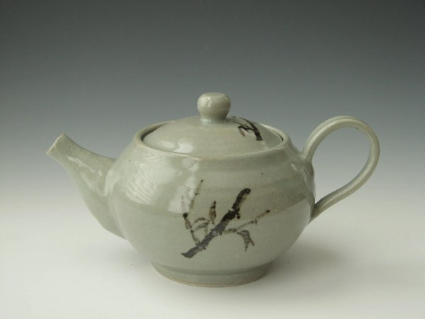 Handmade Ceramic Teapot Pottery Celadon Insceramics