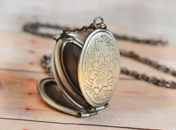 Locket Free Shipping Pendant Necklace Silver