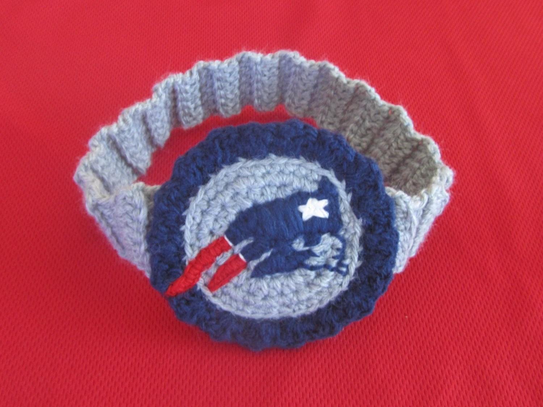 Crochet Pattern For New England Patriots Logo