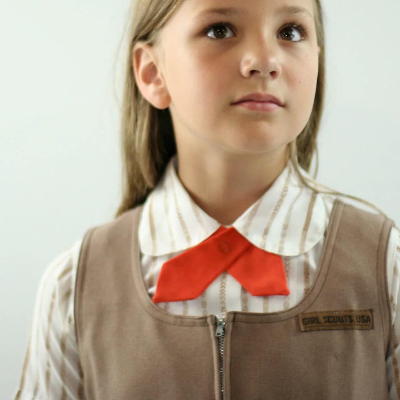 Vintage Girl Scout Brownie Uniform S