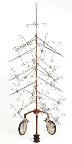Items similar to Industrial Medical IV Christmas Tree on Etsy