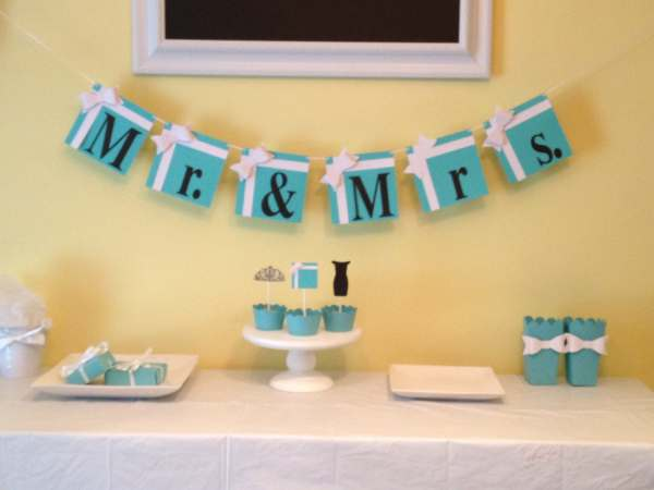 Tiffany Blue Party Decorations