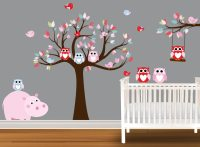 Owl Wall Decals - nursery wall decals & vinyl art | ebay ...