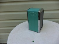 Fiesta Napkin Holder Contemporary Diner Style TURQUOISE