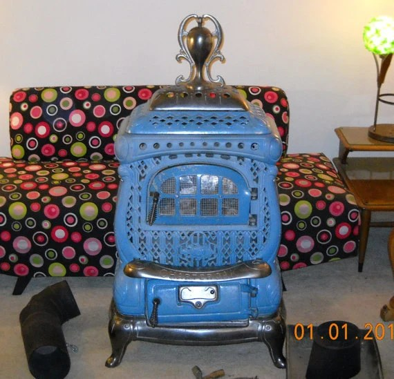 Items Similar To Antique Charter Oak Wood Stove 1920 S On Etsy