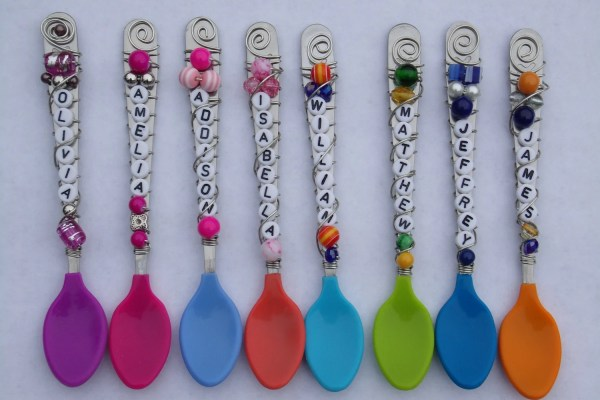 Personalized Baby Spoon Cramerdesign