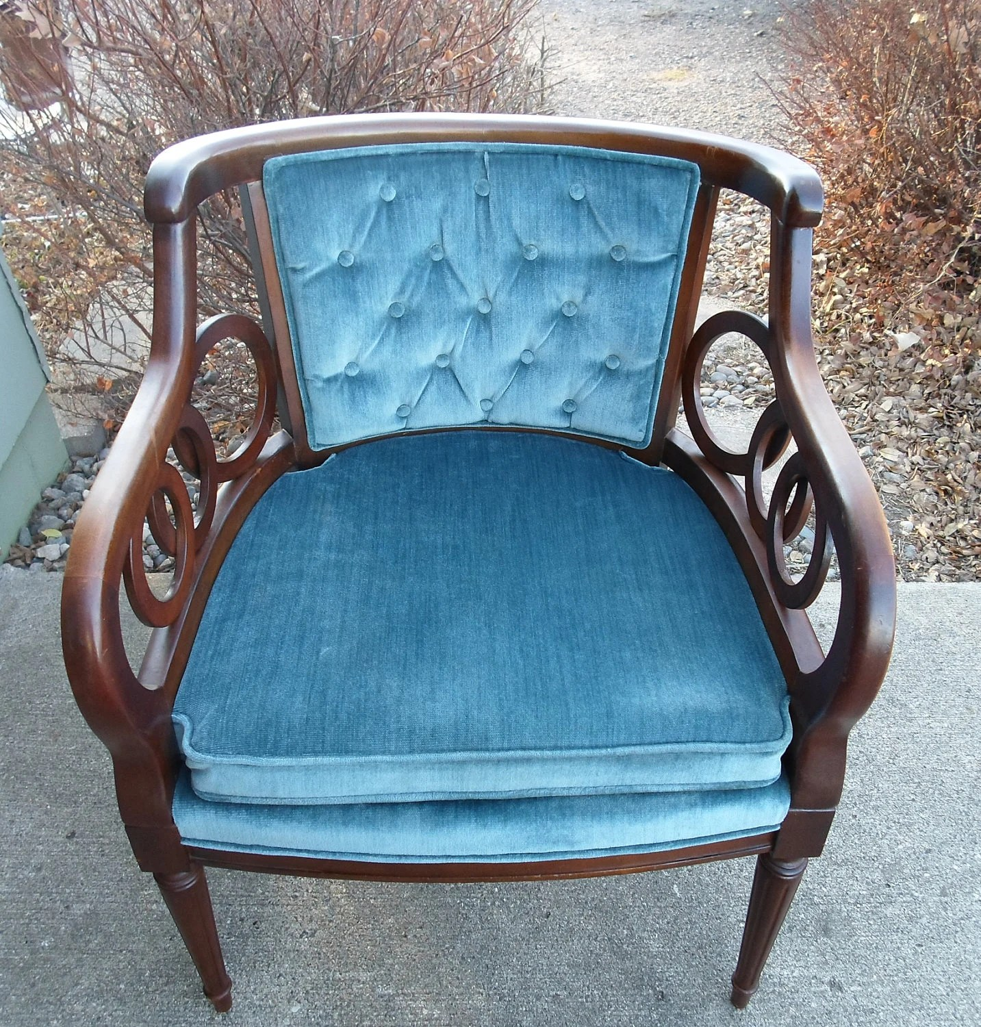 Vintage Club Chairs Vintage Lewittes Hollywood Regency Club Chair Upholstered