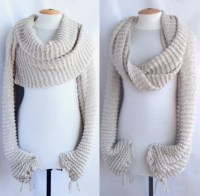 Free Crochet Pattern For Shawl With Sleeves ~ Dancox for