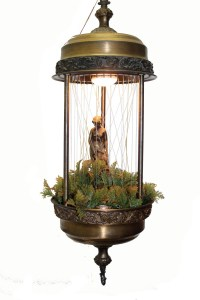 Hanging Goddess Rain Lamp
