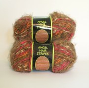 sensations angel hair stripes yarn