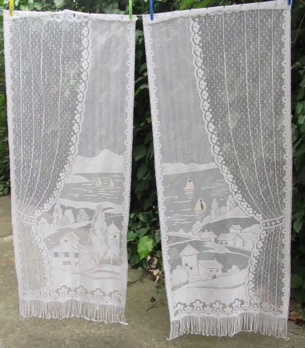 Lace Curtains Cafe Curtain Panels