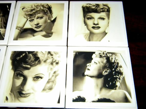 Lucille Ball I Love Lucy Pin Up Girl Vintage Glamour Shots