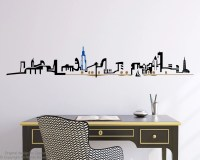 Chicago Skyline Wall Decal by Zapoart on Etsy