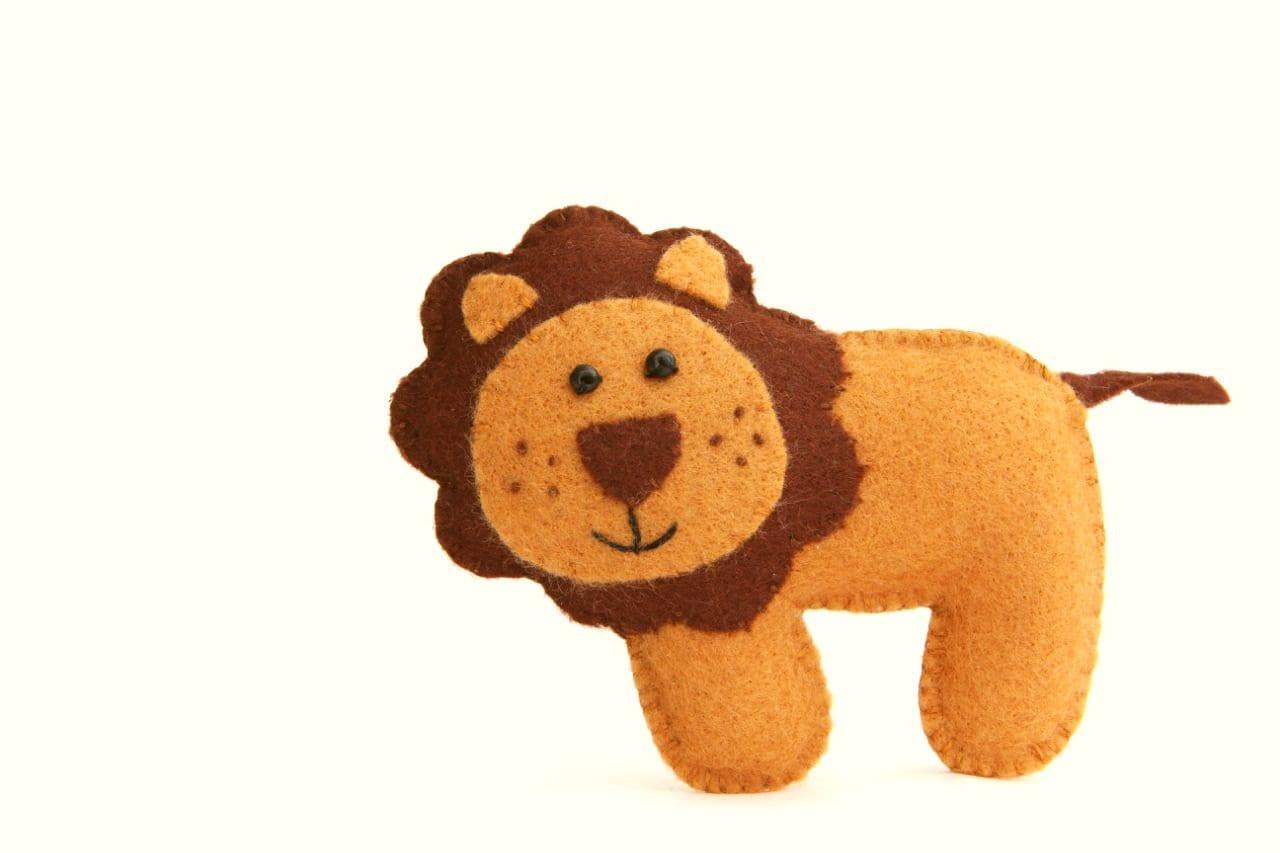Felt Baby Crib Mobile Pattern Jungle Safari Animals Mobile