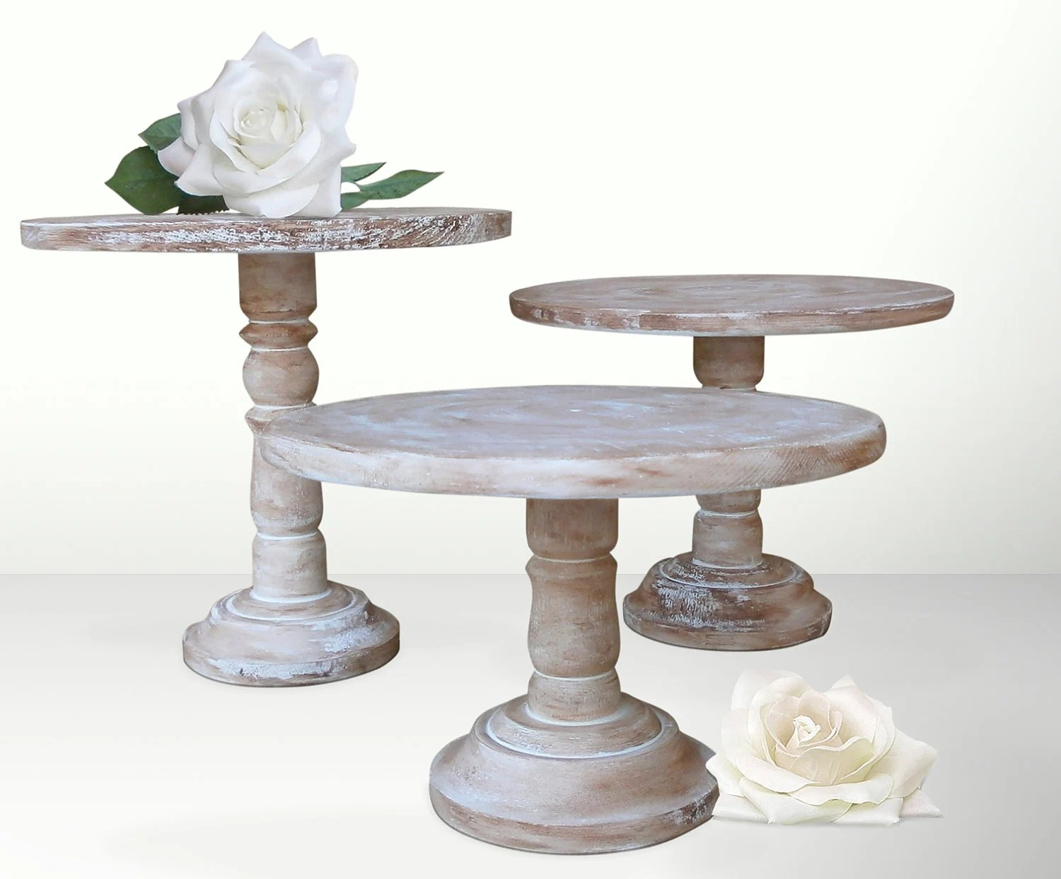 Pedestal Cake Stands For Wedding Reception By