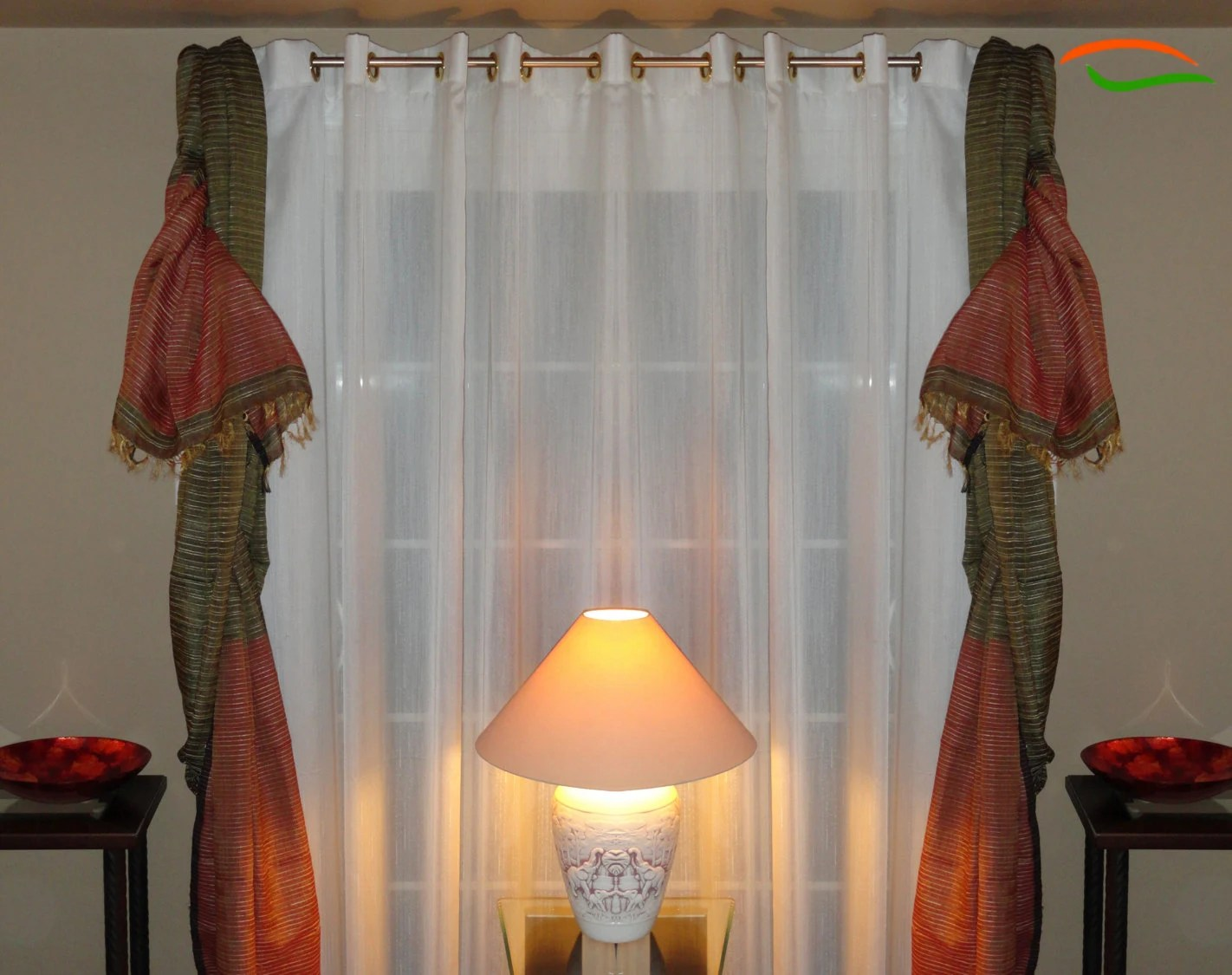 Indian curtains drapes - Ethnic Curtains Etsy