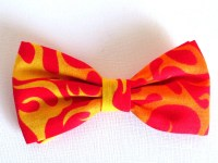 Items similar to Quirky, Funky, Crazy, Unique Clip-On Bow ...