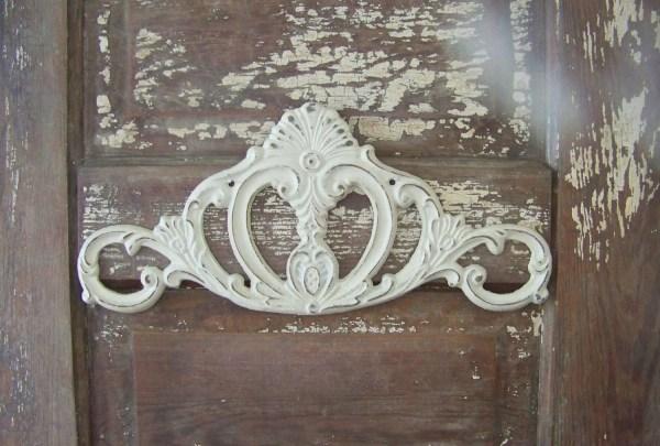 Cast Iron Wall Home Decor-shabby Chic Scroll