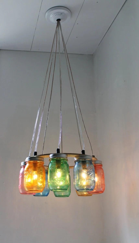 Hanging Mason Jar Lights