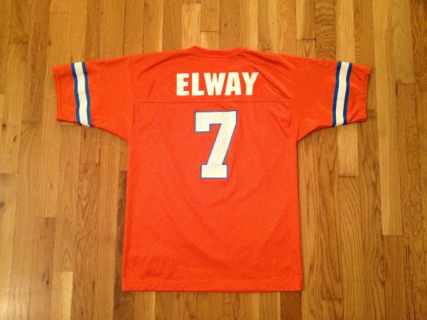 Vintage John Elway Jersey Broncos Youth Size