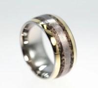 Dinosaur Bone Ring Gibeon Meteorite Ring with by ...