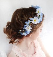 items similar blue flower head