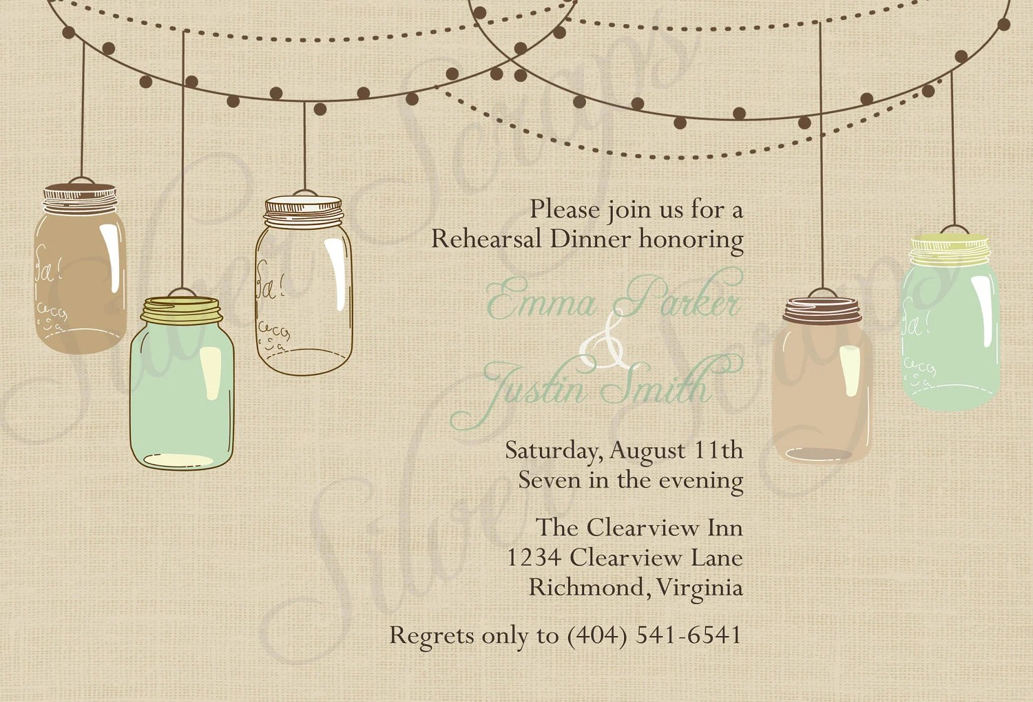 free printable mason jar wedding invitations Invitationjpgcom