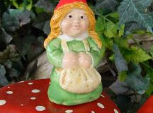 Lady Garden Gnome Woman .... maybe a Lover for my Gare