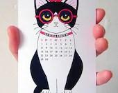 2013 Miniature Tuxedo Cats Calendar - cathypeng