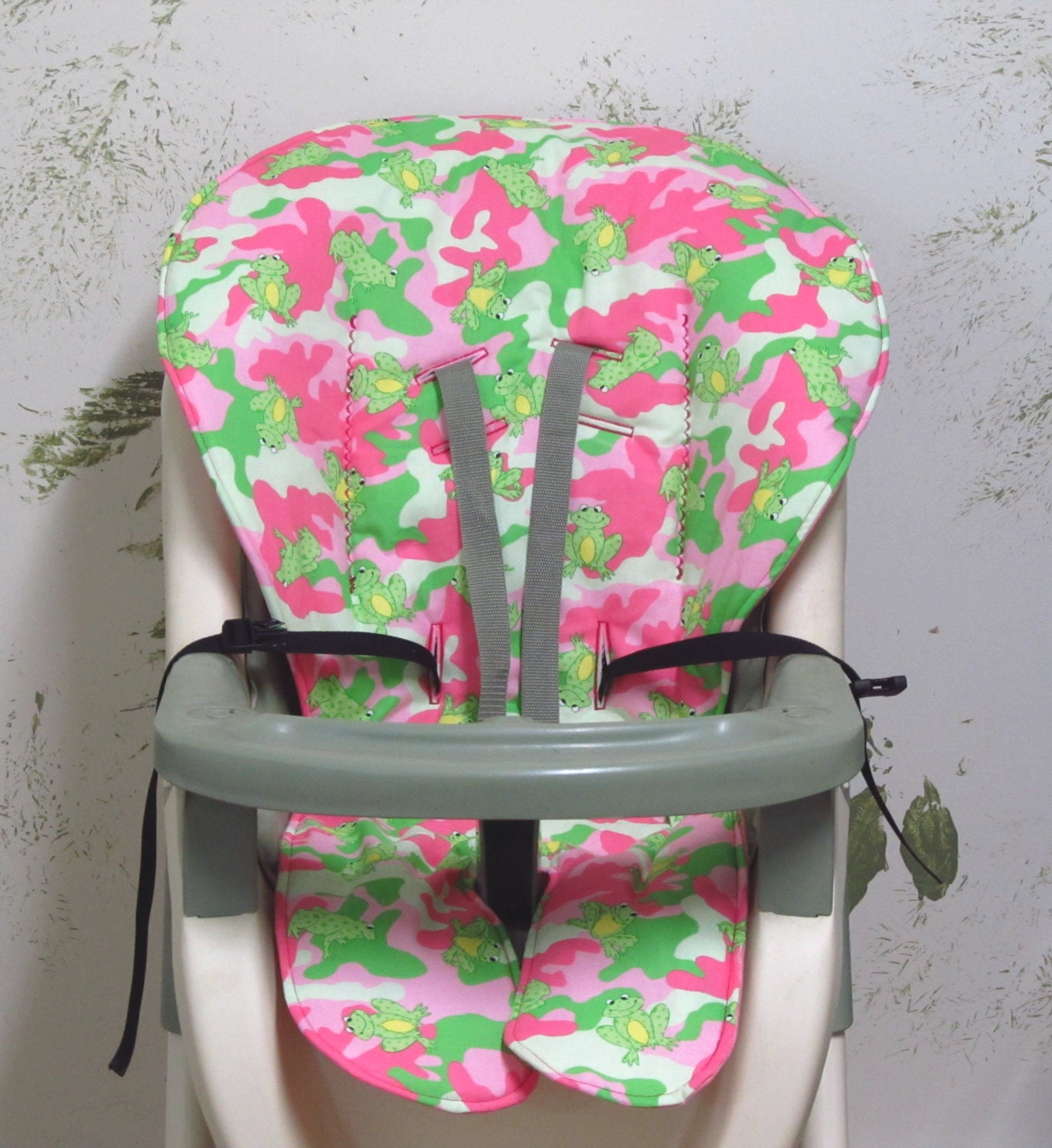 graco duodiner high chair cover replacement rattan armchair uk pad pink camofrogs