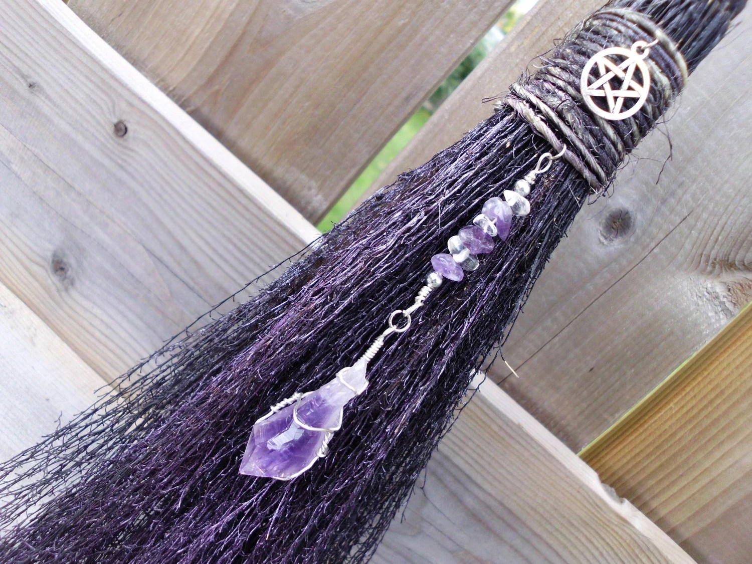 Witches Fall Wallpapers Witches Altar Besom Wall Decor For Protection And
