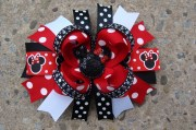 mouse hair bow large boutique
