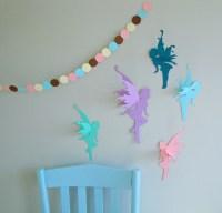 3D Fairy Wall Art-Wall Decals-Wall Decor by goshandgolly ...