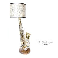 Alto Saxophone Lamp & Sheet Music Lamp Shade