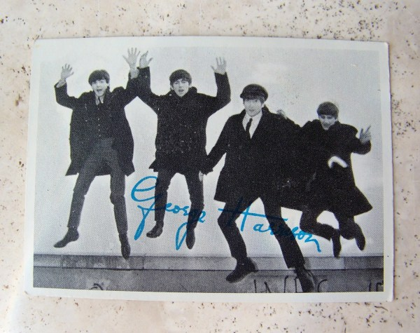 Vintage Beatles Trading Card 1960s