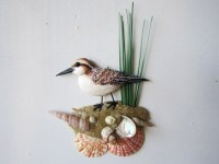 Sandpiper beach art nautical wall decor by artistJP on Etsy