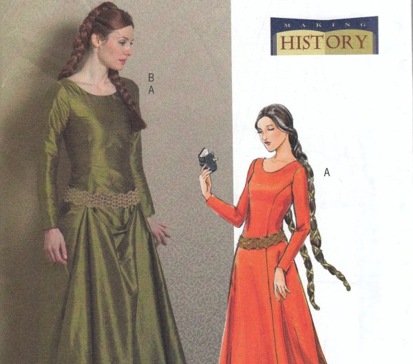 14th Century Medieval Dress Pattern - Year of Clean Water