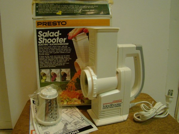 Vintage Presto Salad-shooter Electric Theretroredhead
