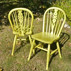 Funky Wooden Chairs Outdoor Furniture Plastic Painted Wood Spindle Back Windsor Set Of Two Boho