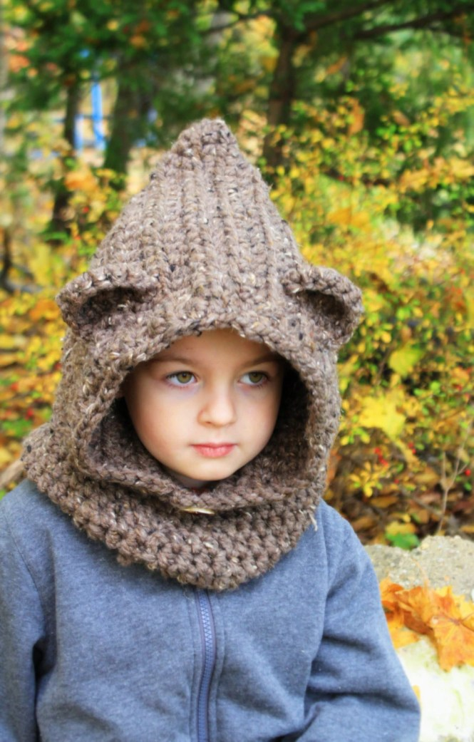 Bear Cowl Crochet Pattern Gallery Knitting Patterns Free Download