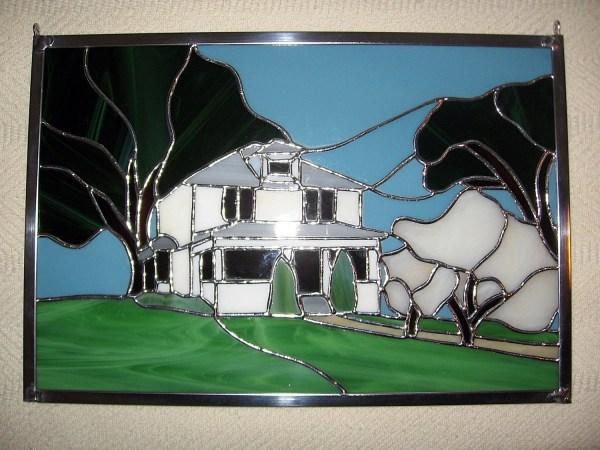 Custom Stained Glass Panel Window