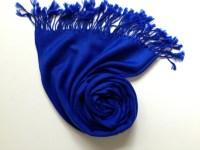 ELECTRIC-BLUE PASHMINA blue shawl pashmina shawl pashmina