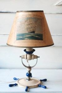 Vintage Nautical Lamp FREE SHiPPiNG by thevintagetreehouse ...