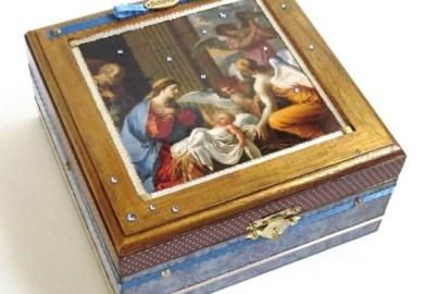 Nativity Card In A Box