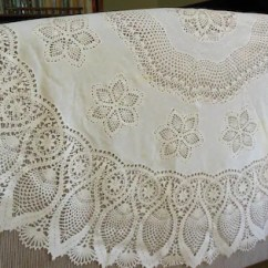 Kitchen Utensil Organizer Moen Faucet With Pull Out Sprayer Vinyl Plastic Lace Tablecloth 60 Round Crocheted Look